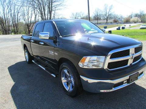 2013 RAM Ram Pickup 1500 for sale at Jerry West Used Cars in Murray KY
