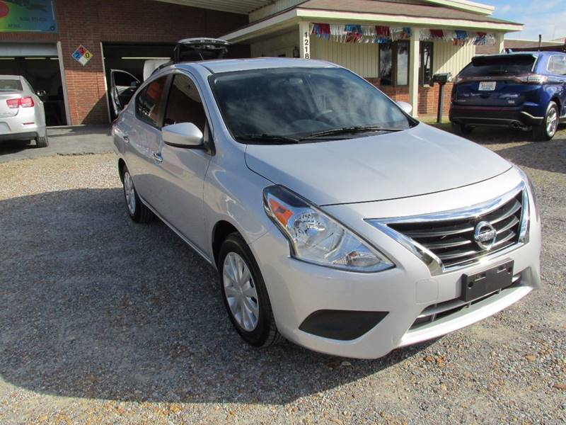2017 Nissan Versa 1.6 SV In Murray KY - Jerry West Used Cars