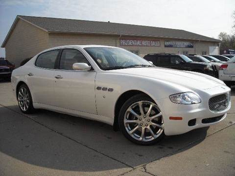 2007 Maserati Quattroporte for sale at Prudential Auto Leasing in Hudson OH