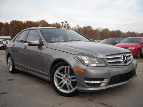 2012 Mercedes-Benz C-Class for sale at Prudential Auto Leasing in Hudson OH