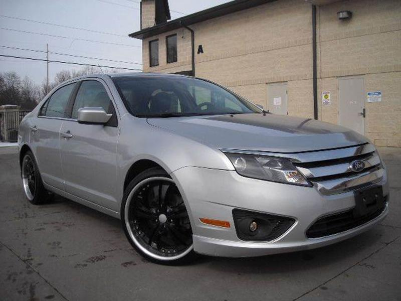 2010 Ford Fusion for sale at Prudential Auto Leasing in Hudson OH