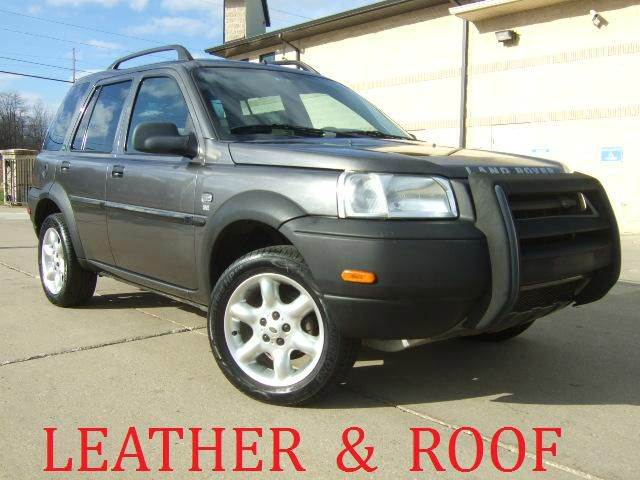 2003 Land Rover Freelander for sale at Prudential Auto Leasing in Hudson OH