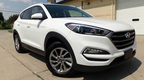 2016 Hyundai Tucson for sale at Prudential Auto Leasing in Hudson OH