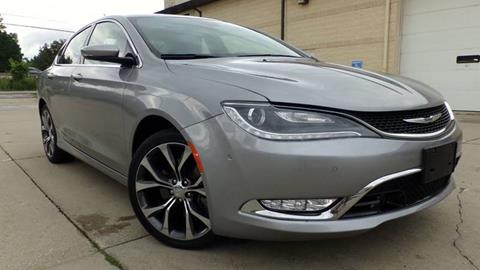 2015 Chrysler 200 for sale at Prudential Auto Leasing in Hudson OH