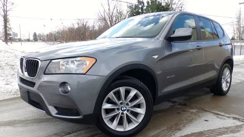 2013 BMW X3 for sale at Prudential Auto Leasing in Hudson OH
