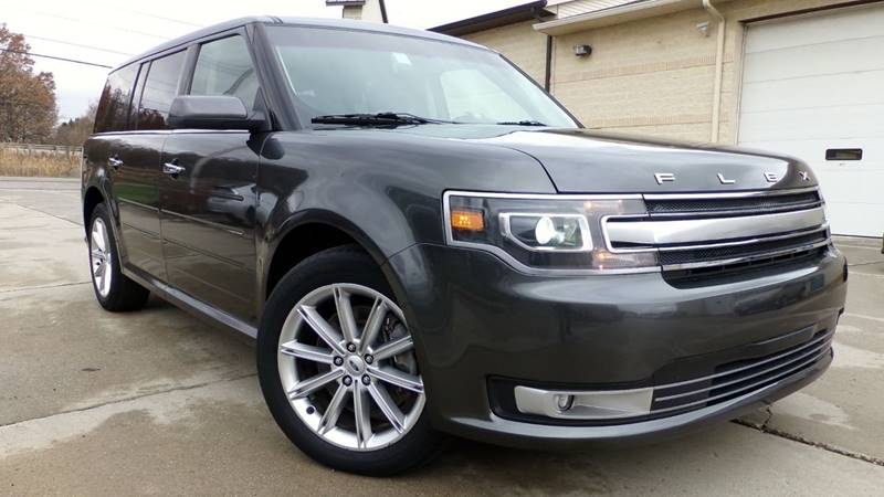 Ford Flex Limited Awd W Gps Hot Seats Lane Departure