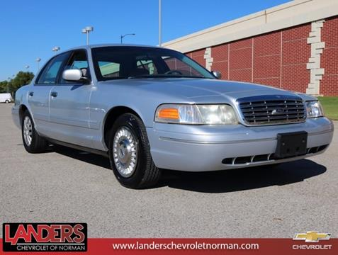 2001 Ford Crown Victoria for sale in Norman, OK