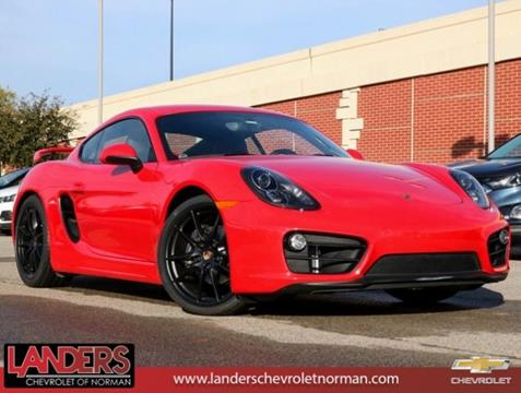 2015 Porsche Cayman for sale in Norman, OK