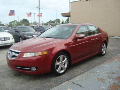 2008 Acura TL for sale at Z MOTORS INC in Hollywood FL