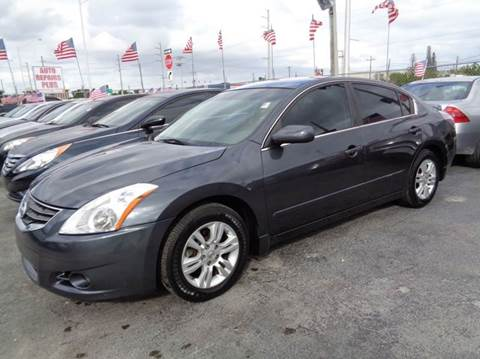 2012 Nissan Altima for sale at Z MOTORS INC in Hollywood FL