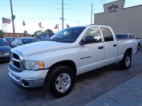 2004 Dodge Ram Pickup 1500 for sale at Z MOTORS INC in Hollywood FL