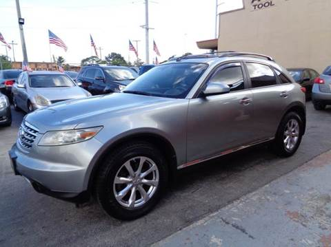 2007 Infiniti FX35 for sale at Z MOTORS INC in Hollywood FL
