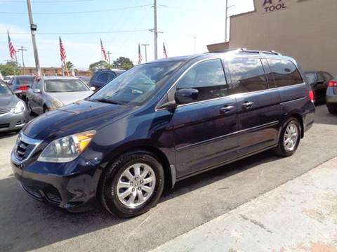 2009 Honda Odyssey for sale at Z MOTORS INC in Hollywood FL
