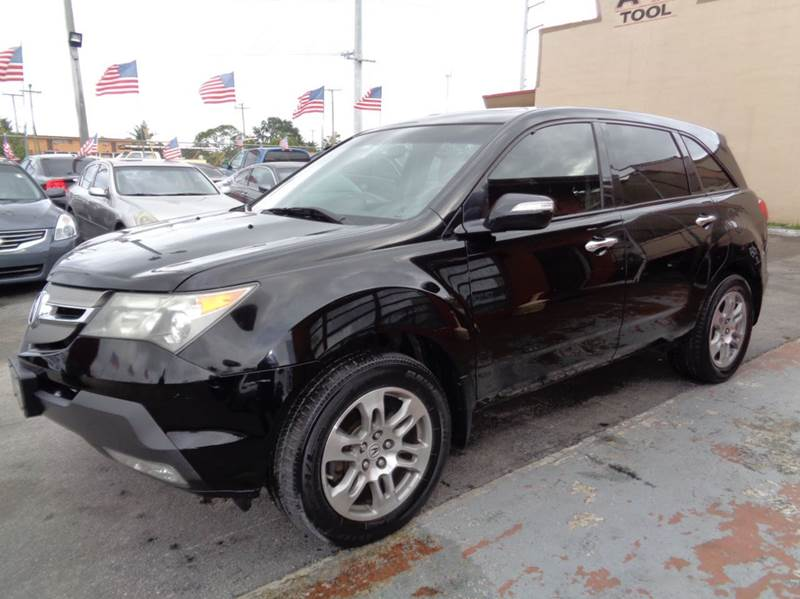 2007 Acura MDX for sale at Z MOTORS INC in Hollywood FL