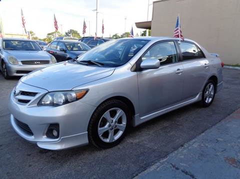 2011 Toyota Corolla for sale at Z MOTORS INC in Hollywood FL