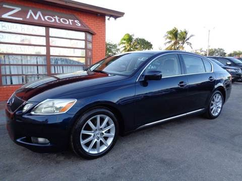 2006 Lexus GS 300 for sale at Z MOTORS INC in Hollywood FL