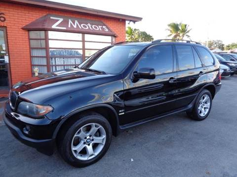2005 BMW X5 for sale at Z MOTORS INC in Hollywood FL