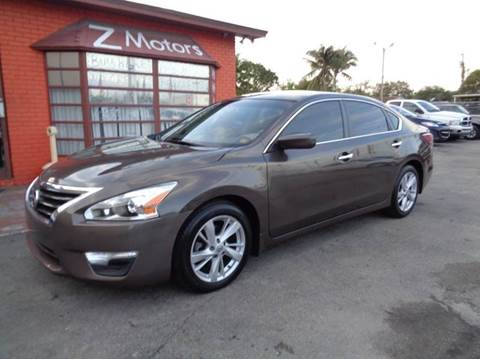 2013 Nissan Altima for sale at Z MOTORS INC in Hollywood FL