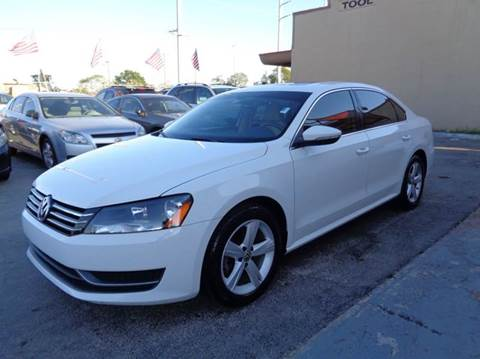 2012 Volkswagen Passat for sale at Z MOTORS INC in Hollywood FL