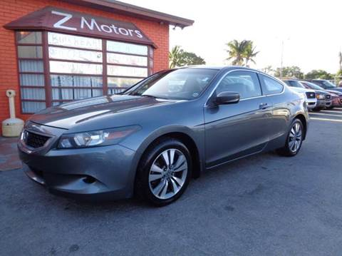 2010 Honda Accord for sale at Z MOTORS INC in Hollywood FL