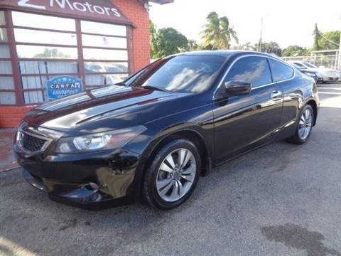 2009 Honda Accord for sale in Hollywood, FL