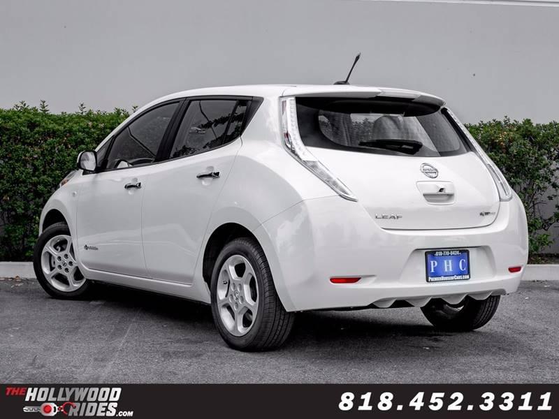 2012 Nissan LEAF SV 4dr Hatchback - Van Nuys CA