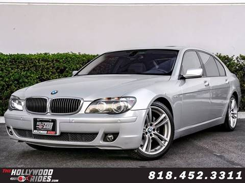 2008 BMW 7 Series for sale in Van Nuys, CA