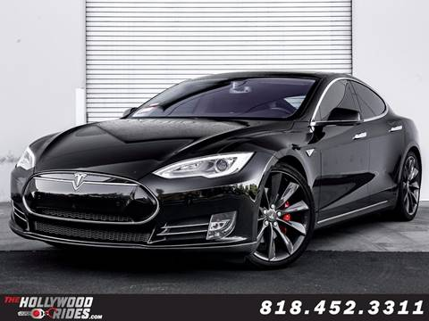 2014 Tesla Model S for sale in Van Nuys, CA