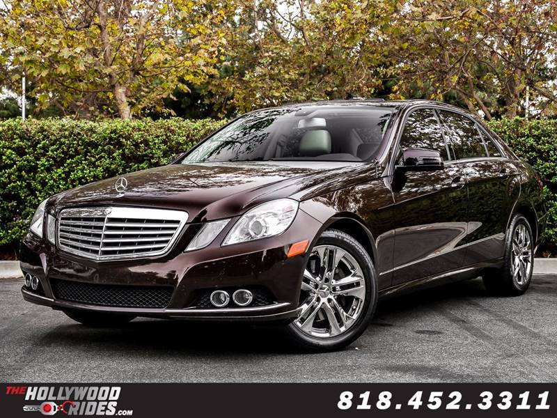 2010 Mercedes Benz E Class For Sale At Hollywood Rides Inc. In Van