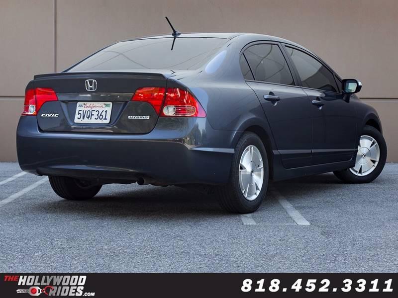 2006 Honda Civic Hybrid 4dr Sedan - Van Nuys CA