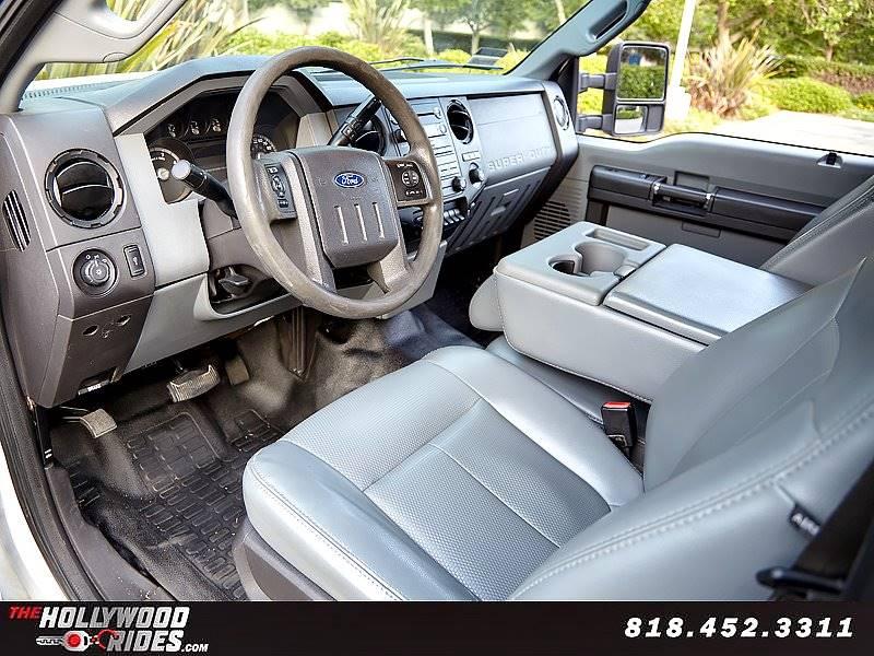 2011 Ford F-350 Super Duty 4x2 XL 4dr Crew Cab 8 ft. LB SRW Pickup - Van Nuys CA