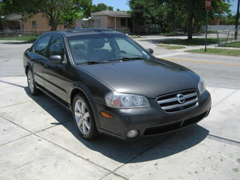 2002 Nissan Maxima for sale in Miami, FL