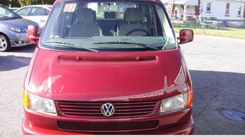 2002 Volkswagen EuroVan for sale in Allentown, PA