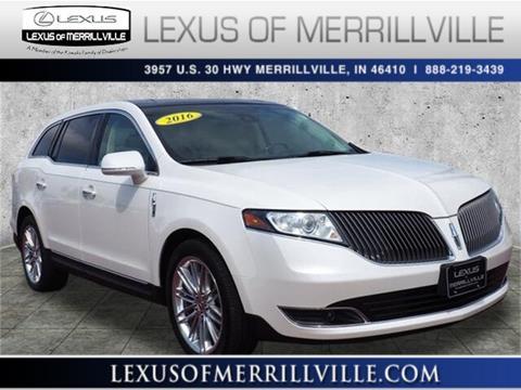 2016 Lincoln MKT for sale in Merrillville, IN
