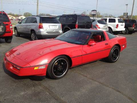 1986 Chevrolet Corvette for sale at All State Auto Sales, INC in Kentwood MI