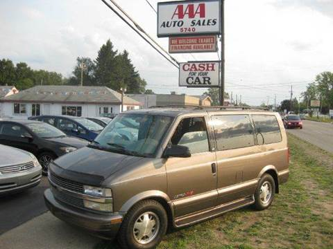 1999 Chevrolet Astro for sale at All State Auto Sales, INC in Kentwood MI