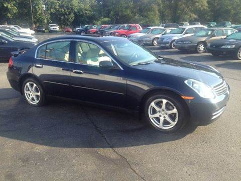 2004 Infiniti G35 for sale at All State Auto Sales, INC in Kentwood MI