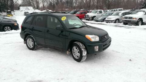 2002 Toyota RAV4 for sale at All State Auto Sales, INC in Kentwood MI