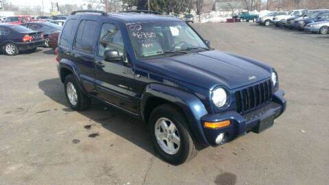 2002 Jeep Liberty for sale at All State Auto Sales, INC in Kentwood MI