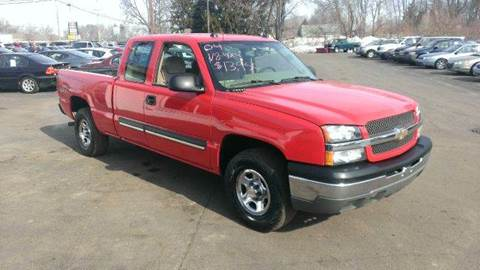 2004 Chevrolet Silverado 1500 for sale at All State Auto Sales, INC in Kentwood MI