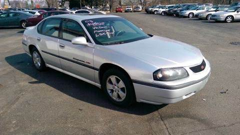 used 2003 chevrolet impala for sale in michigan. Black Bedroom Furniture Sets. Home Design Ideas
