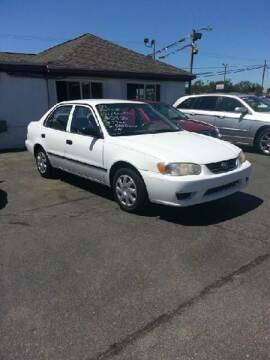 2001 Toyota Corolla for sale at All State Auto Sales, INC in Kentwood MI