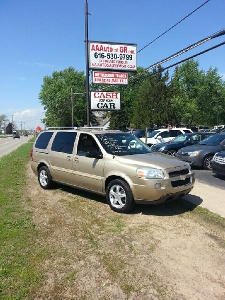 2005 Chevrolet Uplander for sale at All State Auto Sales, INC in Kentwood MI