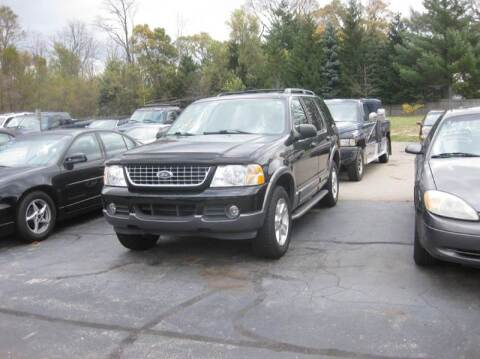2003 Ford Explorer for sale at All State Auto Sales, INC in Kentwood MI