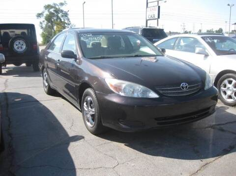 2002 Toyota Camry for sale at All State Auto Sales, INC in Kentwood MI