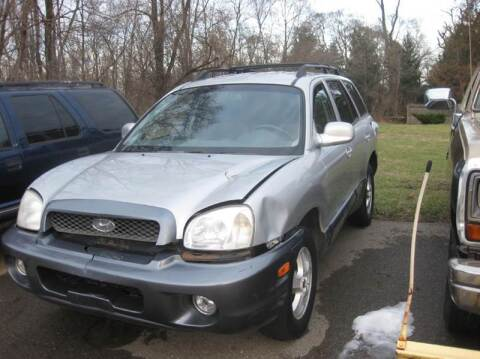 2004 Hyundai Santa Fe for sale at All State Auto Sales, INC in Kentwood MI