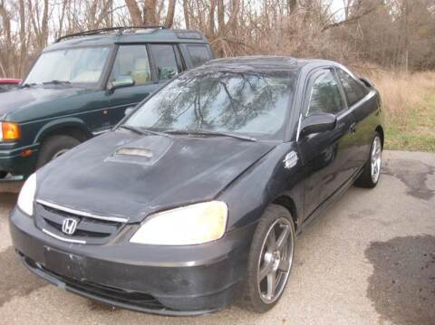 2001 Honda Civic for sale at All State Auto Sales, INC in Kentwood MI