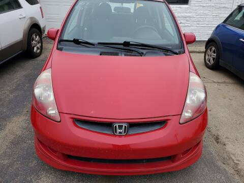 2007 Honda Fit for sale at All State Auto Sales, INC in Kentwood MI
