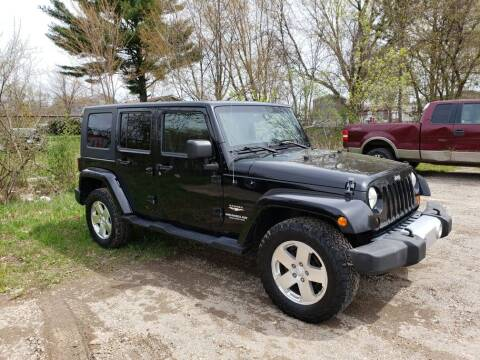 2009 Jeep Wrangler Unlimited for sale at All State Auto Sales, INC in Kentwood MI