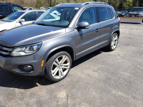 2012 Volkswagen Tiguan for sale at All State Auto Sales, INC in Kentwood MI